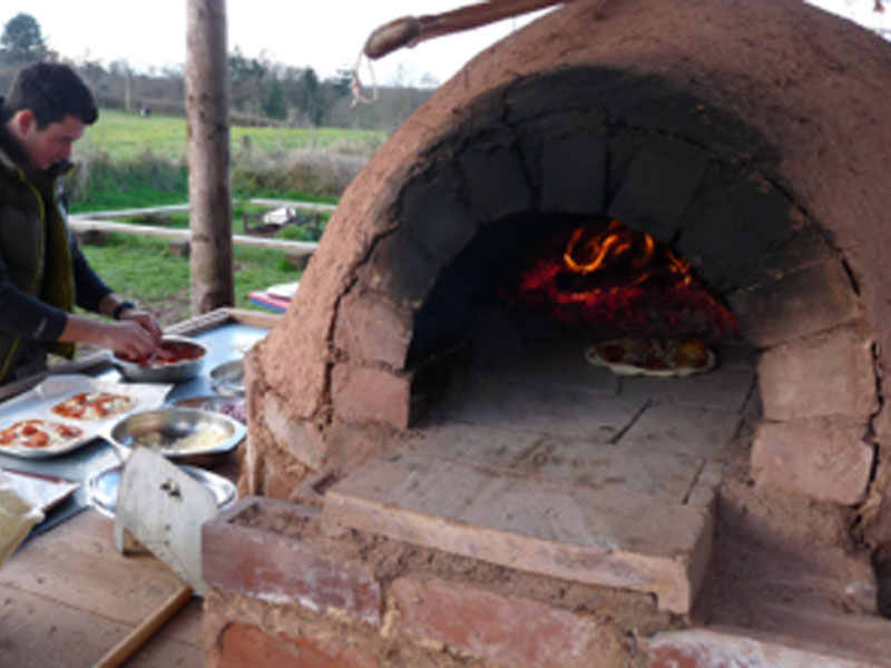 Earth-oven