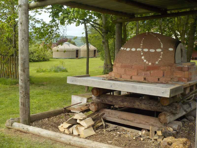 earth-oven-yurts